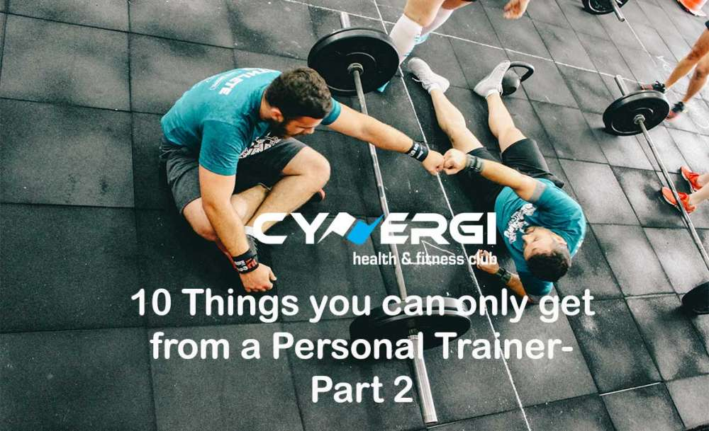 10 things you can only get from a personal trainer